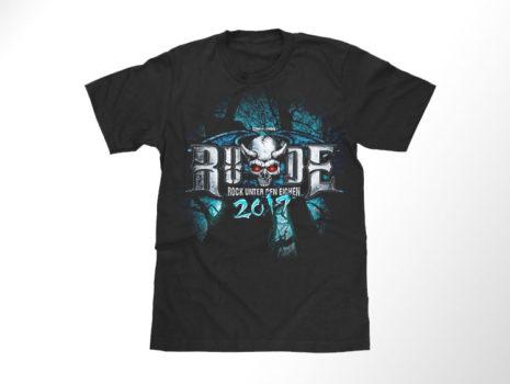 Festival-Shirt R.U.D.E. 2019