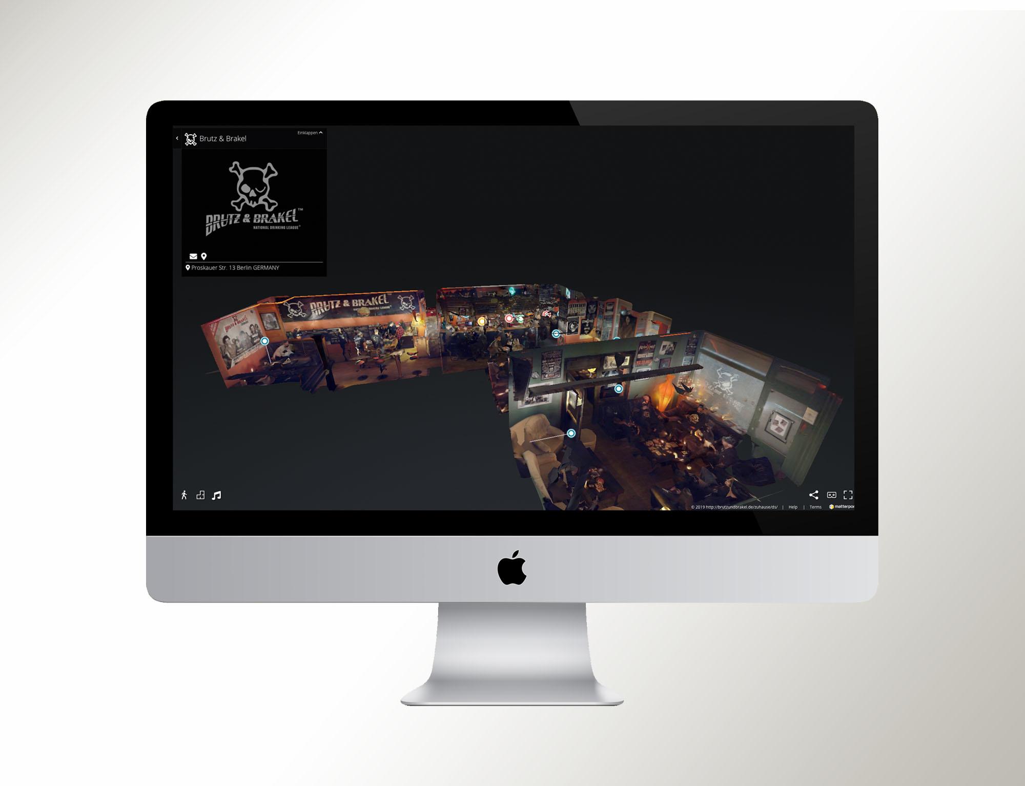 3D Homepage: Brutz & Brakel