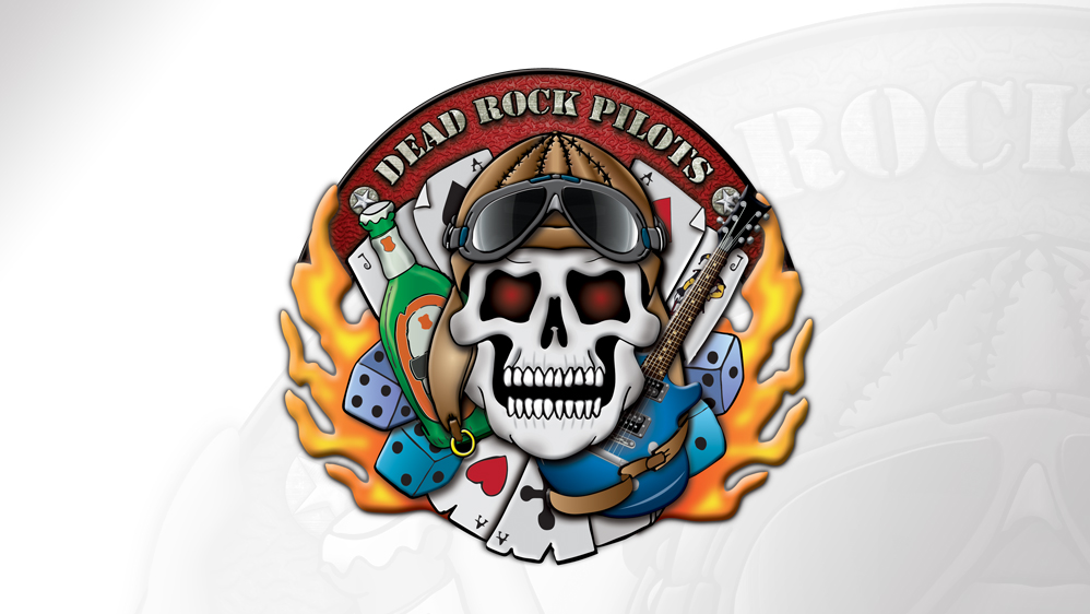 Logodesign Dead Rock Pilots